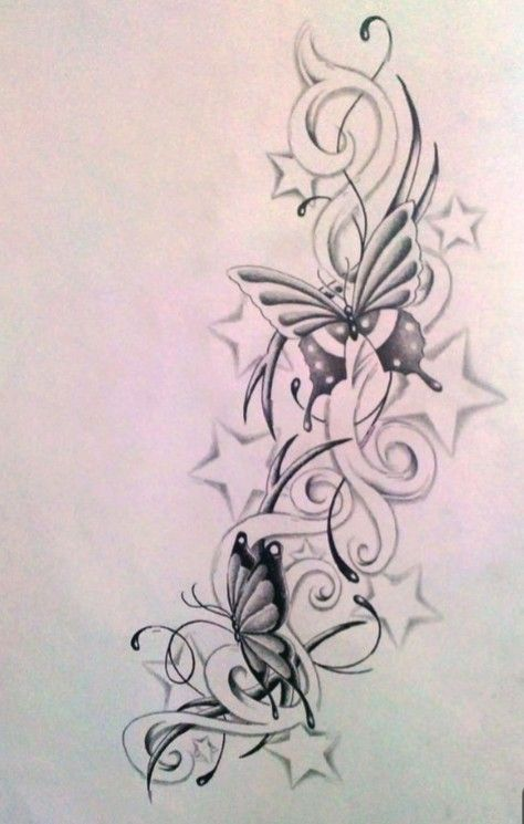 Pin By Mamad On Disegni Star Tattoos Star Tattoo Designs Flower Tattoo Designs