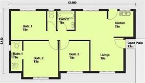 Free Flat Roof House Plan Zambian Image Search Results Flat Roof House Free House Plans House Plans