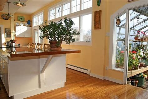 Kitchen With Attached Greenhouse Greenhouseideas Greenhouse Ideas Home Greenhouse Greenhouse Attached To House Greenhouse Kitchen