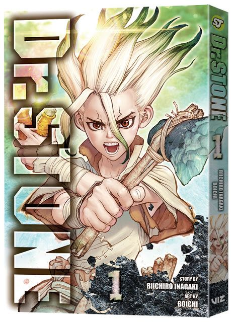 Viz Media Launches Two New Manga Titles Dr Stone And Radiant