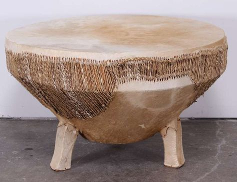 African Drum Coffee Table.Pinterest