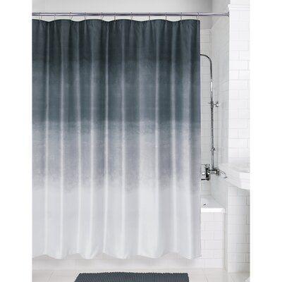 Latitude Run Colorado Springs Metallic Ombre Glimmer Single Shower Curtain Wayfair In 2020 Grey Curtains Ombre Shower Curtain Curtains