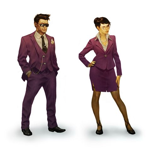 Saints Row 4 Starting President Outfits
