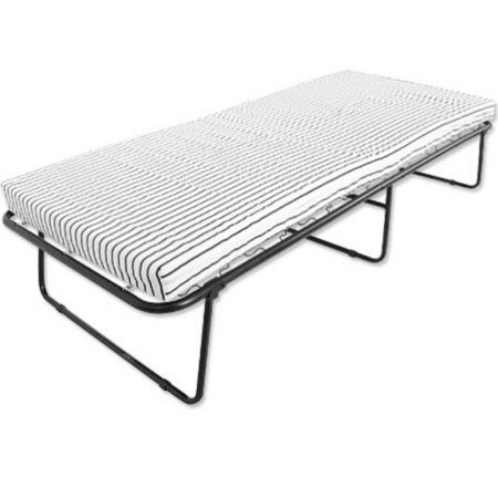 Camping Cot Folding Bed With Mattress Multi Color Products