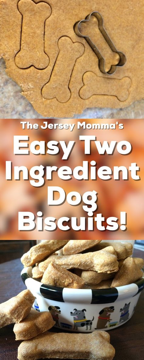 Easy 2 Ingredient Dog Treats: Make Your Own Healthy Dog Biscuits!