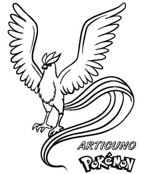 Get More Pokemon Articuno Coloring Pages Pokemon