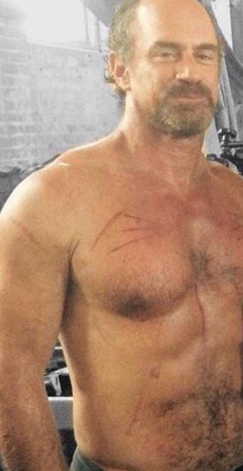Christopher Meloni Generously Donates Shirtless Kilt