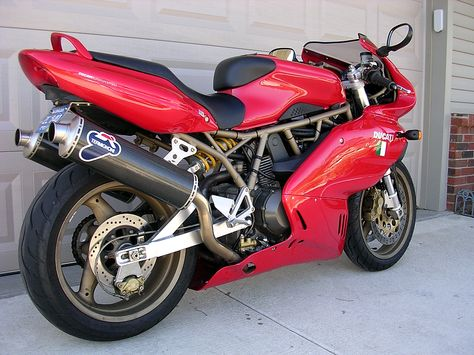 My Ducati 1999 750 Supersport Carbon Fiber Modified Exhaust