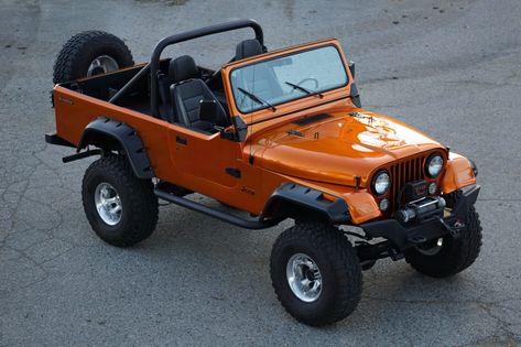 1981 Jeep Cj 8 Scrambler In 2020 Jeep Scrambler Jeep Cj Jeep