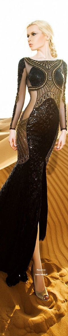 Glamour Gown / karen cox. Dany Tabet Couture Spring-summer 2015