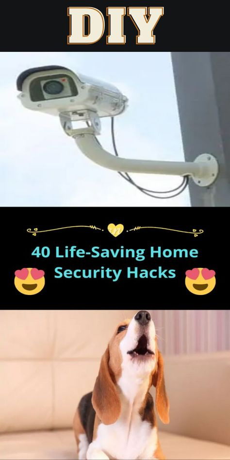 Life Saving Home Security Hacks DIY Tips Tricks LifeHacks Ideas Nifty Ways