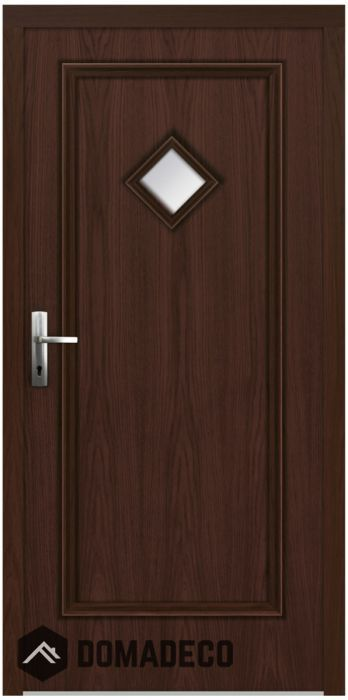 Gabcal Classic Wooden Back Door Wooden Back Doors Aluminium Cladding Back Doors