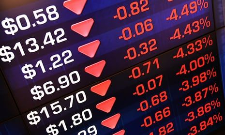 As It Happened Asian Stock Markets Drop After Dow S Second Biggest Fall Asian Stock Market Marketing Dow