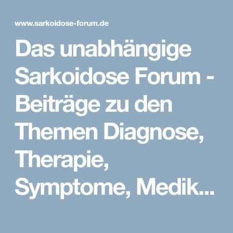 sarkoidose therapie
