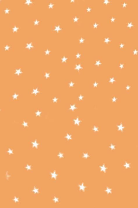 orange with stars