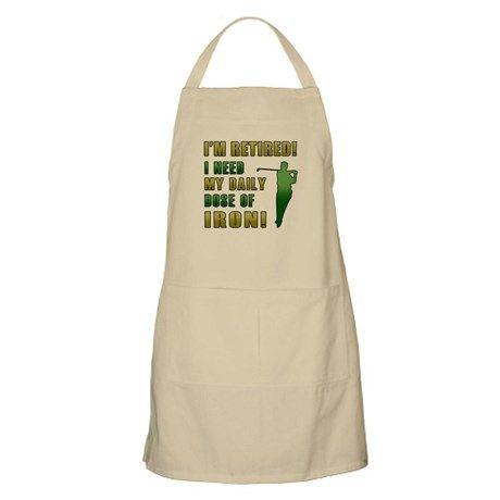BBQ and Kitchen Apron/ /Golfer