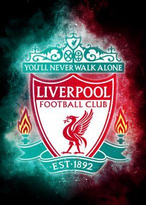 Liverpool Logo Powder Fx By Clone Studio Metal Posters Displate Liverpool Liverpool Logo Liverpool Poster