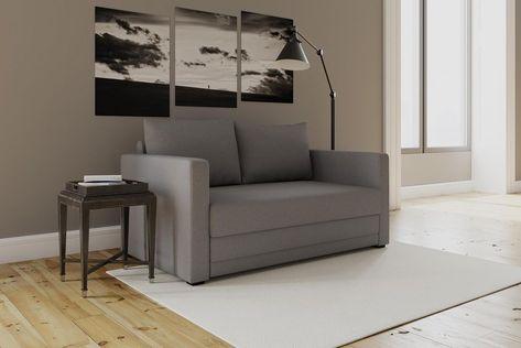Brilliant Grey Loveseat Sleeper Convertible Modern Sofa Pull Out Couch Creativecarmelina Interior Chair Design Creativecarmelinacom
