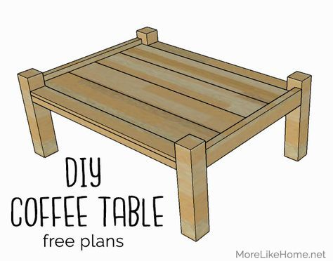Simple Four Poster Coffee Table Plans Day 1 Coffee Table Plans Simple Coffee Table Coffee Table Wood