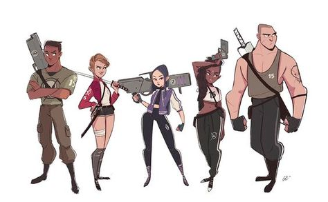 Character Design | Line Ups