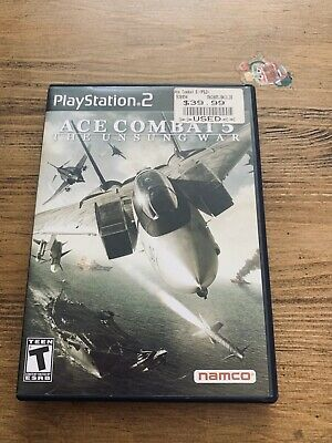 Ace Combat 5: The Unsung War (Sony PlayStation 2, 2004) for sale online   eBay