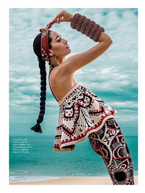 Marie Claire Brazil August 2014 - Marcelia Freesz by Fabio Bartelt
