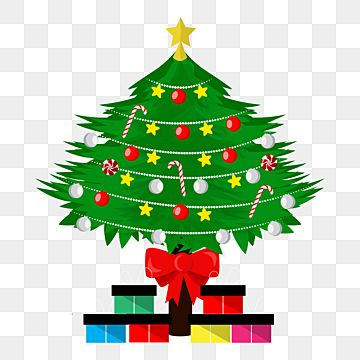 Nice Big Christmas Tree With Gift Png Design Light Decoration Christmas Big Png And Vector With Transparent Background For Free Download Christmas Tree With Gifts Big Christmas Tree Purple Christmas Tree