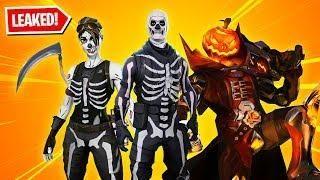 Halloween Skins Fortnite 2018.All 13 New Halloween Skins In Fortnite Skull Trooper