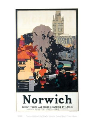 Lincoln Cathedral And Town Railway Vintage Retro Oldschool Old Good Price Poster
