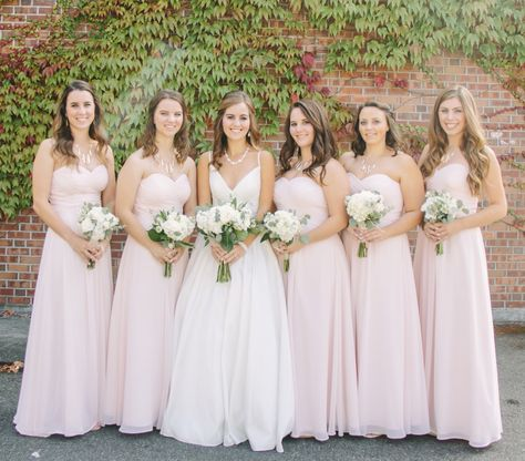 f813d899f06c All Reviews | Wedding stuff | Blush pink bridesmaid dresses, Pink ...