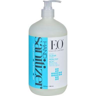 Eo Products Hand Sanitizer Gel Natural Unscented 32 Oz