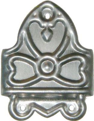 Trunk Slat Clamp Celtic Knot stamped steel chest steamer antique vintage old new