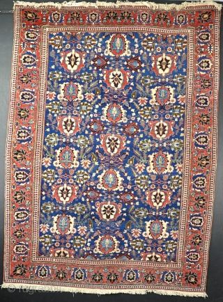 An Old Veramin Rug In Very Good Original Condition 1st Quarter 20th Century 220x148cm Rugrabbit Com
