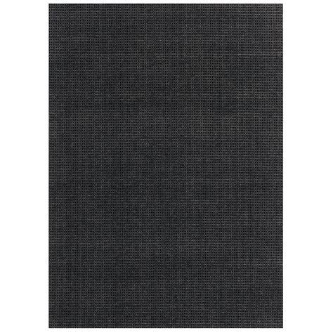 Pin Dot Indoor Outdoor Rug Black