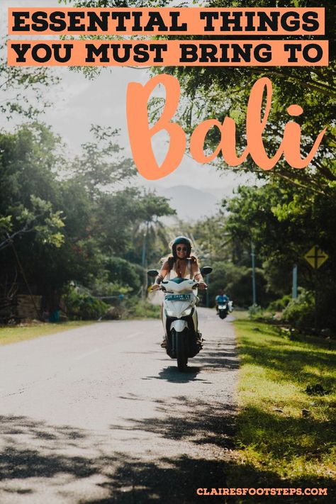 Are you thinking of what to pack for Bali? If you're planning a trip to Indonesia, you might want this Bali packing list, full of the things to take to Bali, including Seminyak, Ubud, Canggu, Uluwatu and even what to pack for Lombok as a bonus! Check out this Indonesia packing list, which can also be used as a South East Asia packing list as the whole area enjoys a similar climate and culture. If you're wondering what to pack for South East Asia, this list will help!
