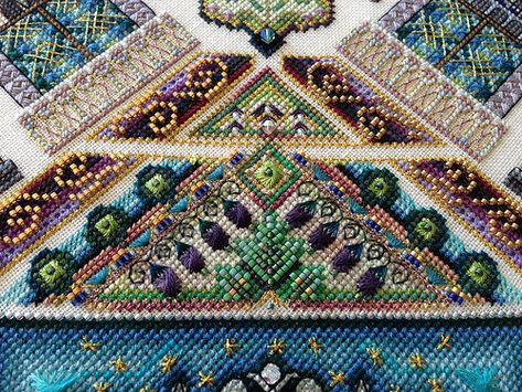 detail Venice Mandala (helen_orlova) Tags: mandala chatelaine xstitching