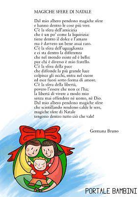 Le Piu Belle Poesie Di Natale Scuola Primaria.Magiche Sfere Di Natale Poesie Di Natale Natale Parole Di Natale Bambini Di Natale