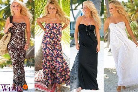 Sukienki Plazowe Maxi Strapless Dress Formal Formal Dresses Dresses