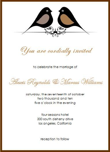 Love bird fall wedding invitations im in love pinterest love bird fall wedding invitations im in love pinterest weddings and wedding stopboris Gallery
