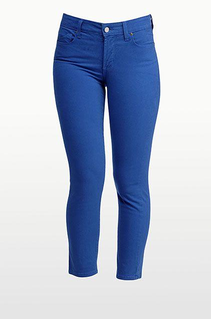 Wear on July 4th! Alisha Skinny Ankle in Fine Line Twill Electric Blue #PintoWinNYDJ contest details: bit.ly/PintoWinNYDJ