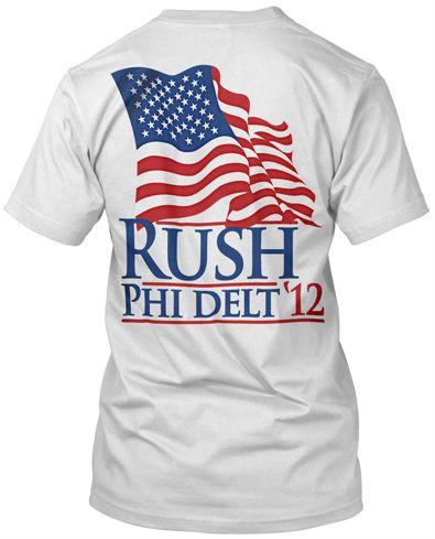 Rush shirts for next year???