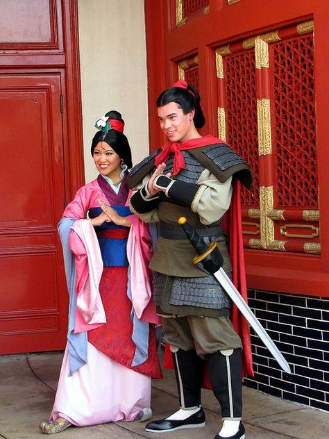 Mulan & Li Shang, Walt Disney World, Orlando, Florid a