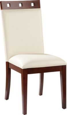 Sofia Vergara Savona Ivory Wood Top Side Chair | Juego de ...