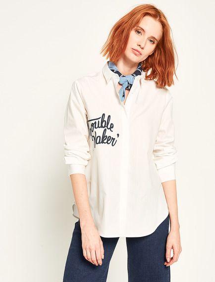 Koton Koton Kadin Baskili Gomlek Fashion Brand Store Graphic Sweatshirt