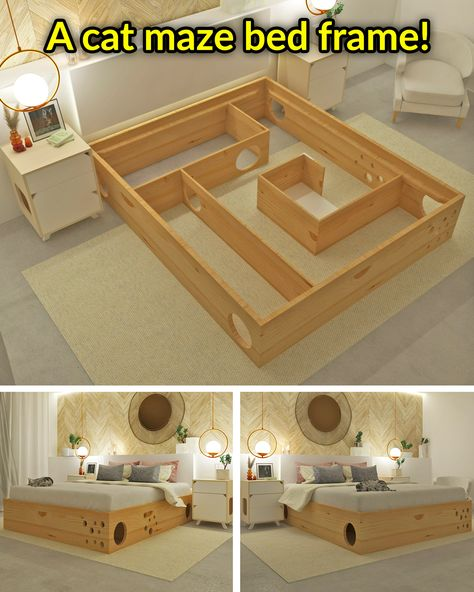 Cat Room, Cat Furniture, Dream Rooms, Cool Rooms, My New Room, Home Goods, Cool Things To Buy, Bedroom Decor, Cats