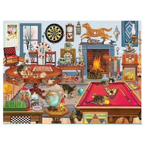 1000 Pieces Billiard Leisure Jigsaw Puzzle - Billiard leisure