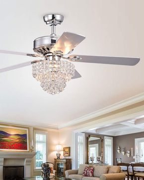 Home Accessories Tiered Crystal Chandelier Ceiling Fan Ceiling Fan Chandelier Ceiling Fan With Remote Ceiling Fan