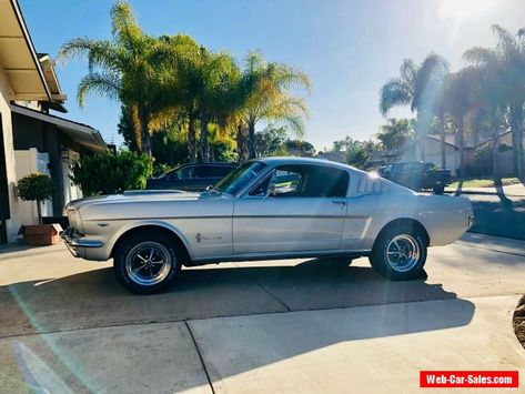 Car For Sale 1965 Ford Mustang