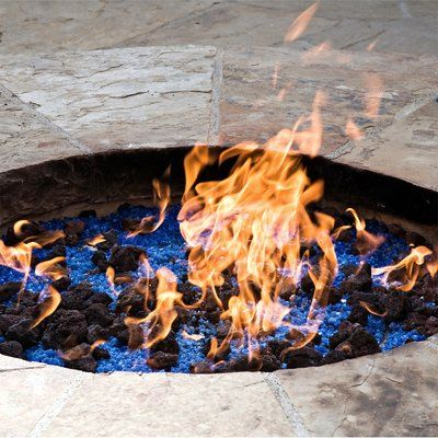 Fire Pit Essentials Lava Rock Natural Stones Fire Pit Glass Gas Fire Pits Outdoor Cool Fire Pits Glass Fire Pit Glass rocks for fire pit