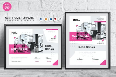 Professional Certificate Template MS Word